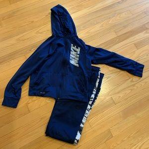 Nike Youth Large Matching Zip-up Hoodie & Pants